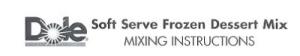 Dole Mix Instructions Image