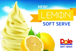 Lemon DOLE Soft Serve